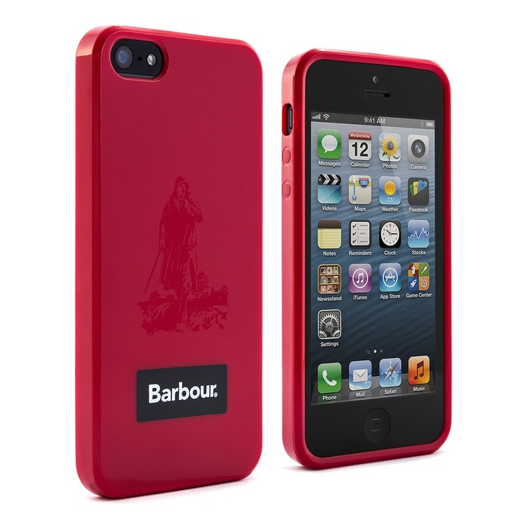 Barbour iPhone 5 Case | Red Welly Shell | £19.95 by Proporta