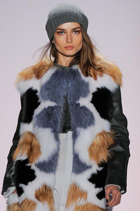 Andreea Diaconu - BCBG Max Azria Fall/Winter 2013-2014