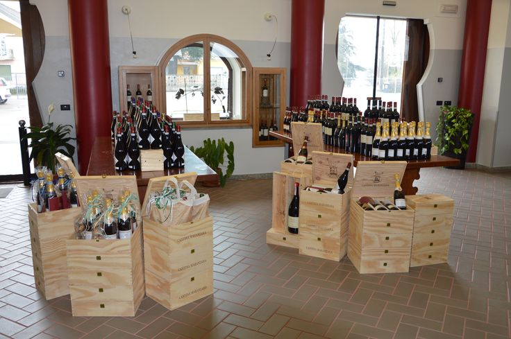 The new look of winery shop