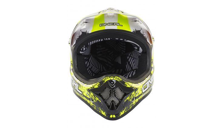 ONeal Backflip Fidlock Downhill helm RL2 Shocker wit/zwart | Bestellen op…