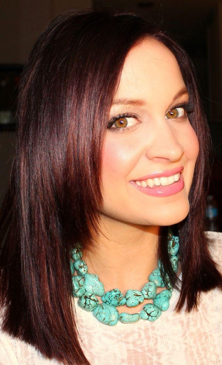 Best 25+ Red tint hair ideas on Pinterest | Dark red brown hair ...