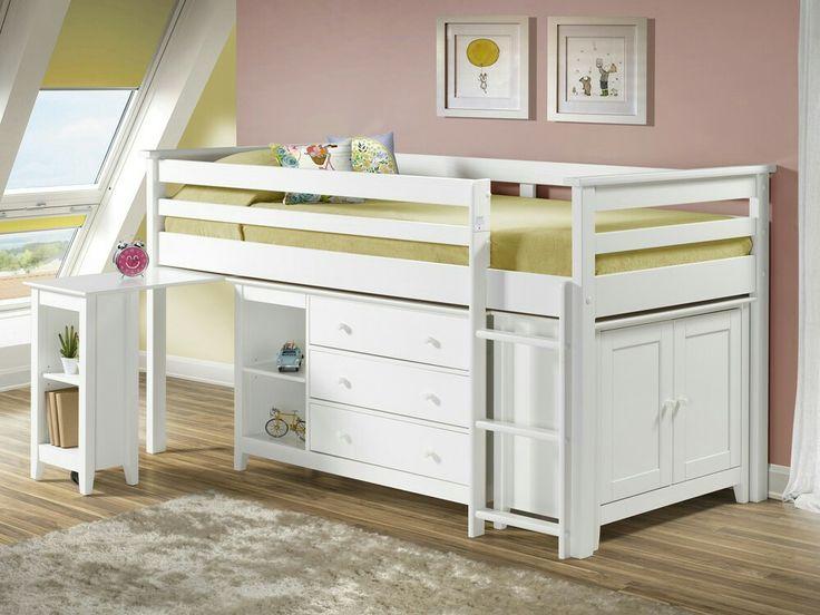 12 best kids mid sleeper beds images on pinterest beds. Black Bedroom Furniture Sets. Home Design Ideas
