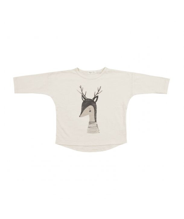 Blouse Deer cream