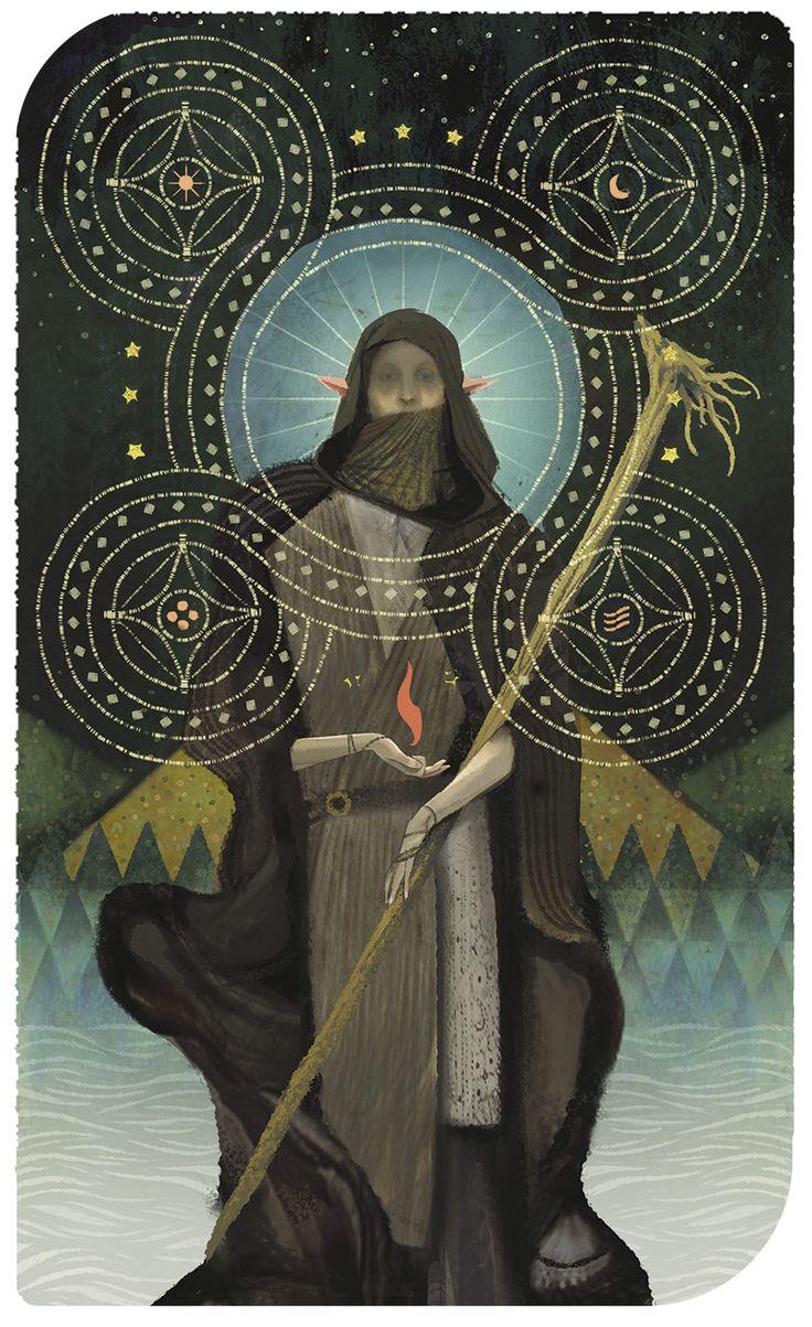 Dragon Age Inquisition Tarot - Solas