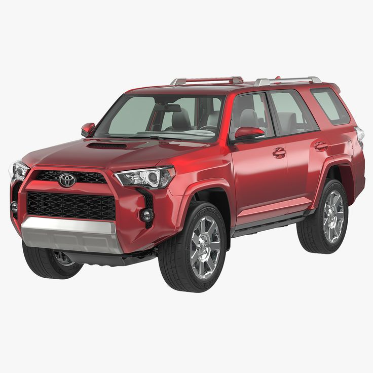 Toyota 4Runner 2015 3D 3Ds - 3D Model