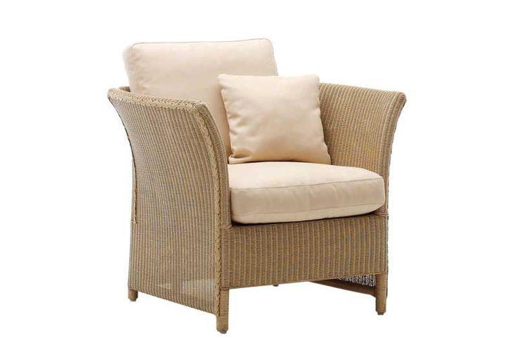 Sika Design Lloyd Loom Sessel mit Hocker Largo kaufen im borono Online Shop