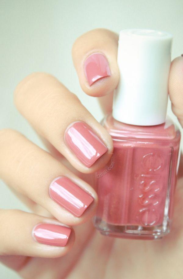Essie All Tied UpEssie Nails, Nail Polish, Nails Colors, Soft Pink, Pink Colors, Pink Nails, Nail Colors, Makeup, Nails Polish