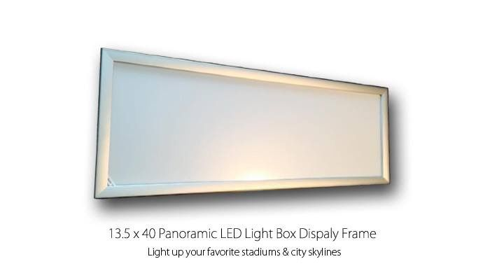 17 best PANORAMA LED LIGHT BOX DISPLAY FRAMES images on Pinterest ...