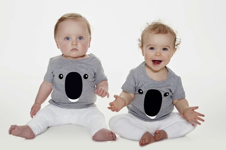 Koala t-shirt for kids and infants. Available now at www.reallywildchild.com. Really Wild Child. Made for little animals.