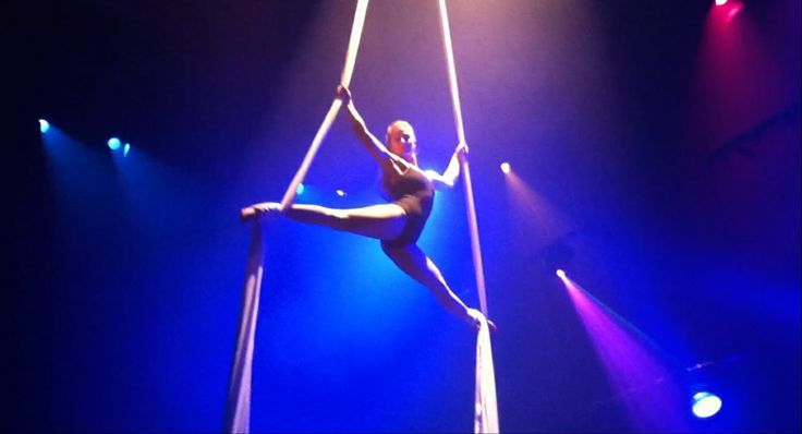 WATH - We Are The Hague Festival - Aerial Act - by Pole Dance Studio Pole Guru