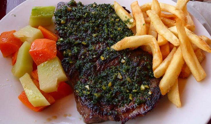 Churrasco Steak w/Chimichurri Sauce - Rivas, Rivas - Nicaragua