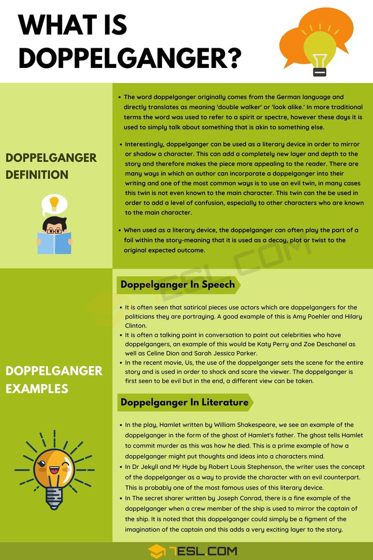 Doppelganger Definition, Useful Examples In Speech And