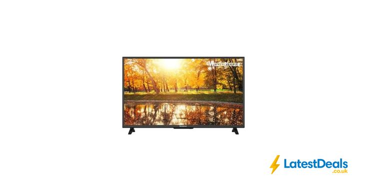 New Westinghouse 40 Inch Smart LED 1080p Full HD Freeview HD TV Free Delivery, £279 at ebay