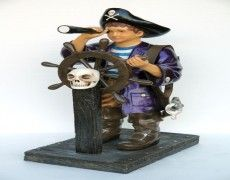 Pirates Children Statue