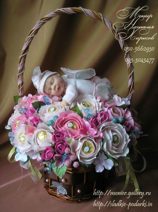 Gallery.ru / Фото #28 - Корзины с цветами и конфетами 400-1000 грн. - monier