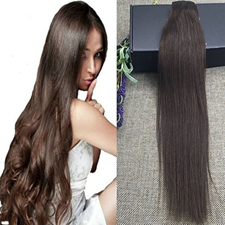 Best 25 brown hair extensions ideas on pinterest pretty brown 16 22 50g one piece clip in hair extensions dark brown hair extensions straight pmusecretfo Choice Image