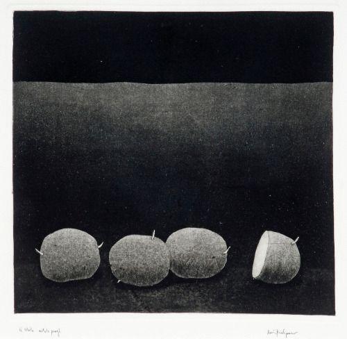 Pentti Kaskipuro(Finnish, 1930-2010) Potatoes Etching