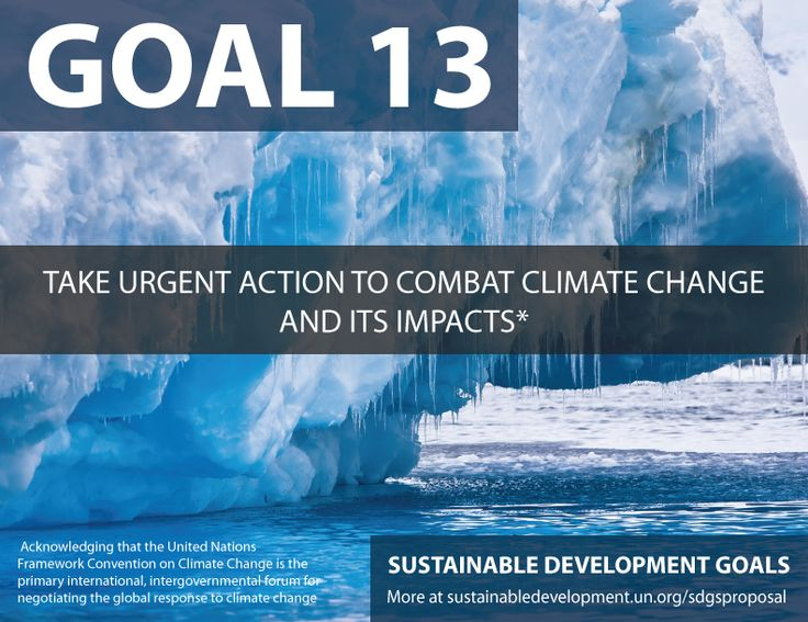 Proposal for Sustainable Development Goals ... Take Urgent Action to Combat Climate Change and Its Impacts - Sustainable Development Knowledge Platform