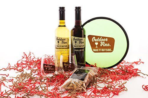 awesome Play Outside Wine Gift Set, 2 x 750 mL