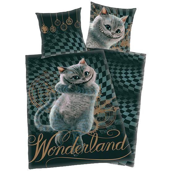 Cheshirekatten - Sängkläder från Alice i Underlandet