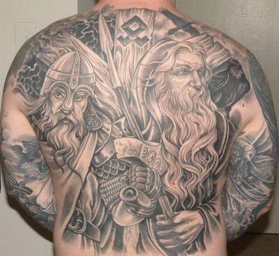 23 besten tattoos bilder auf pinterest nordische mythologie germanen und krieger. Black Bedroom Furniture Sets. Home Design Ideas