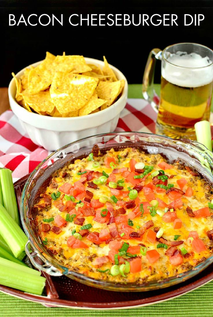 Bacon Cheeseburger Dip has all the flavor and ingredients as your favorite sandwich, but without the bun! Spread this cheesy recipe onto Town House Original Crackers for an unbeatable crunch.
