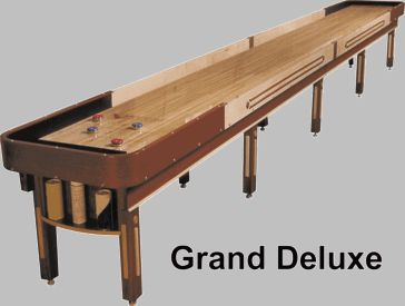 22u0027 Grand Deluxe Shuffleboard Table