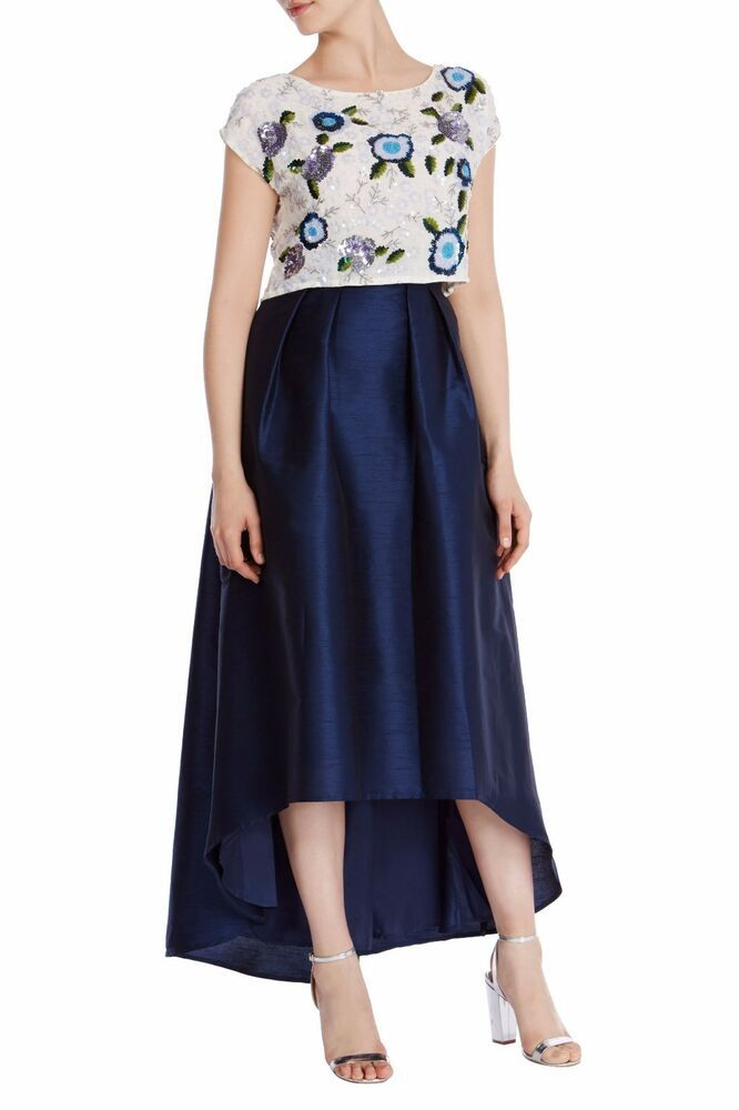 7096677ce Coast Ira Iridessa High Low Skirt Navy Blue Size UK 14 LF171 KK 02 #fashion  #clothing #shoes #accessories #womensclothing #skirts (ebay link)