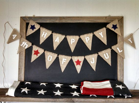 happy 4th of july banners