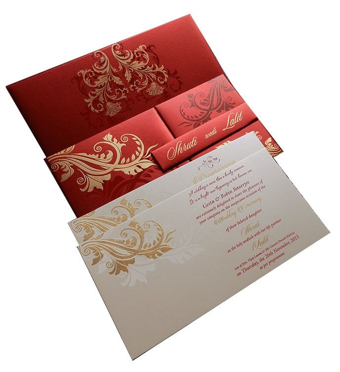 10 best Hindu Wedding Cards images on Pinterest | Hindu weddings ...