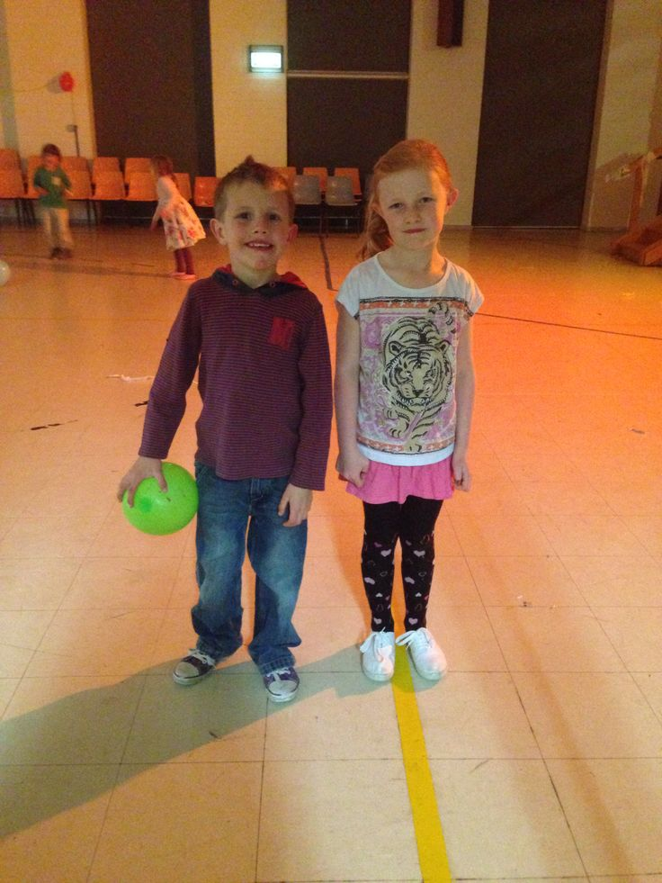 Jaime and Tyler enjoy a nite out at the School Disco!!
