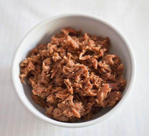 Tuna soboro with ginger | Just Bento