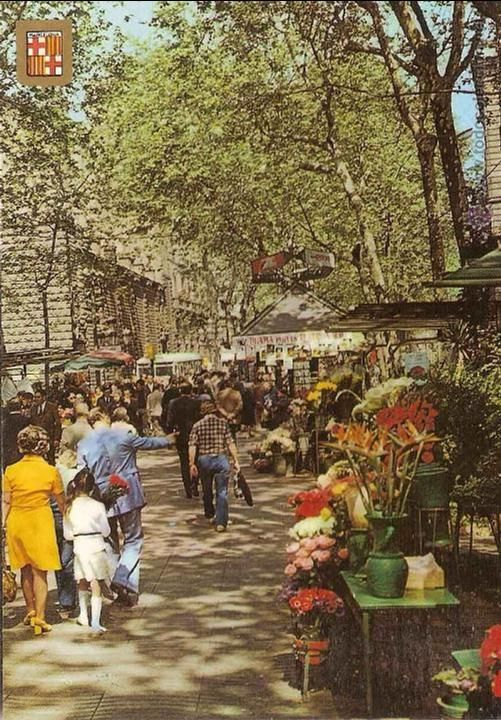 Barcelona, Las Ramblas, anys 60
