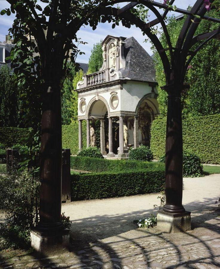 Garden of the Rubens House, Antwerp.