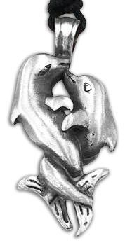 Loving Dolphins Pewter Pendant Dan Jewelers. $13.57. Does not tarnish. Good value. Dan Jewelers has tens of thousands of positive feedbacks across the internet.. Hypoallergenic. Satisfaction guaranteed.. Save 32% Off!