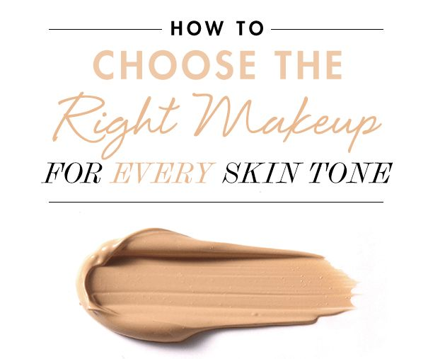 Pick N Dazzle - Guided Beauty - HOW TO CHOOSE THE RIGHT MAKEUP FOR EVERY SKIN TONE