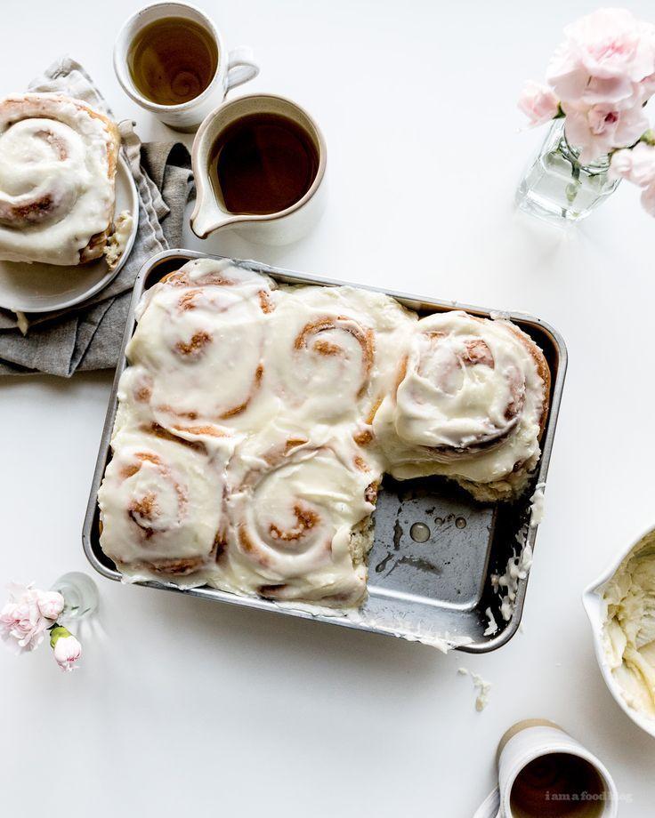 Easy 6 Ingredient Cinnamon Buns Recipe - #vegan #cinnamonbuns #desserts