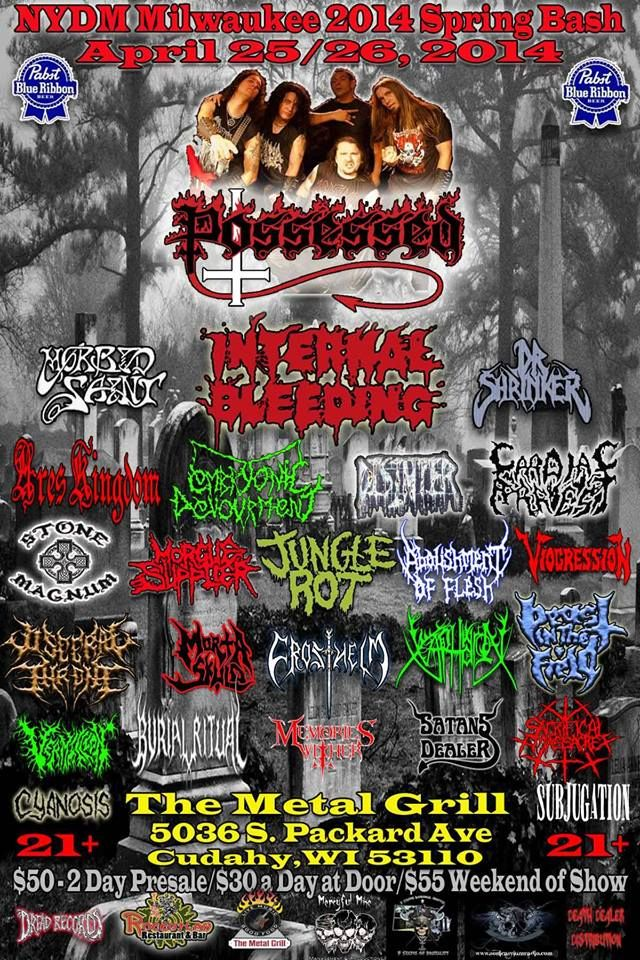 The Metal Grill 2014 (Flyer Metal / Poster)