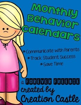 Monthly behavior calendars are a great communication and tracking tool. Now one of our most popular products is available for free in a simplified form!   These simplified calendars provide the month at the top of each page, seven versions of each month* (based on which day of the week month starts with), a blank space for various uses at the bottom, and directions on how to make these calendars your own.  *February has 14 calendars included - seven with 28 days and seven with 29 days   If…