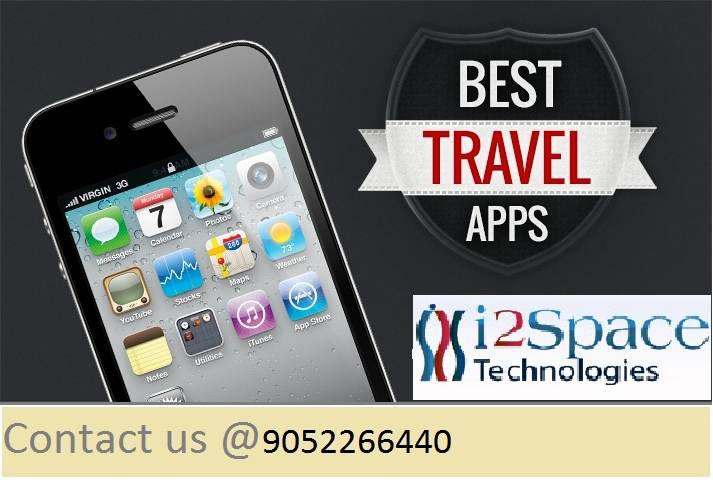 i2space technologies provides travel mobile application for all travel websites at very low cost. It offers so many applications to android, iphone etc. For more details plea visit our website http://www.i2space.com/travel-mobile-application.html