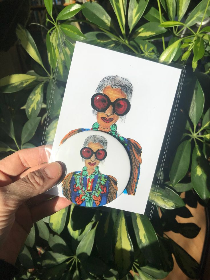 A personal favourite from my Etsy shop https://www.etsy.com/uk/listing/592925991/iris-fashion-illustrated-card-and