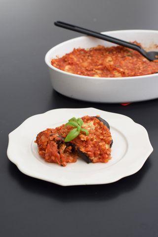 Vegetariska auberginerullar med fetaost och tomatsås | Skippa nudlarna | Bloglovin'