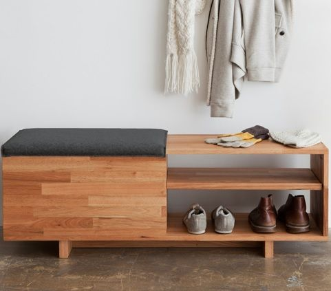 MASHstudios LAXseries Storage Bench, as featured on Design Milk courtesy of Michelle Williamson!