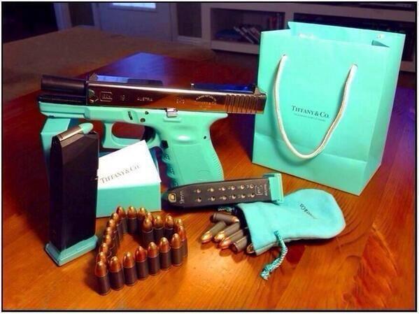 tiffany blue gun