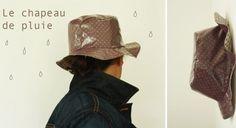 Un chapeau de pluie DIY / Prima