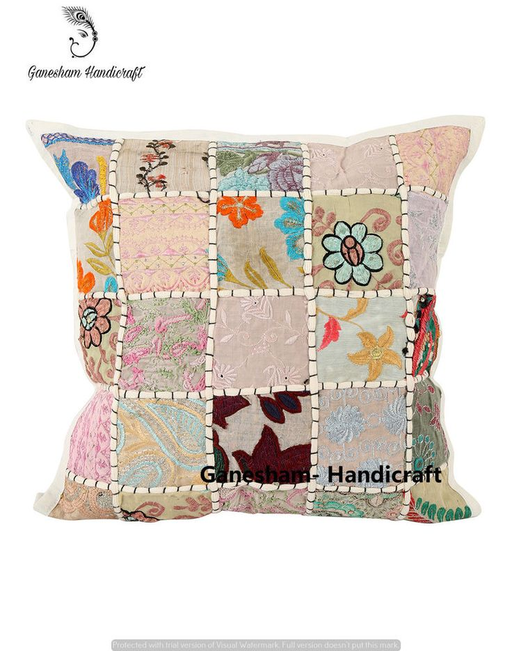 16 best Patchwork Cushion Cover images on Pinterest | Pillowcases ...