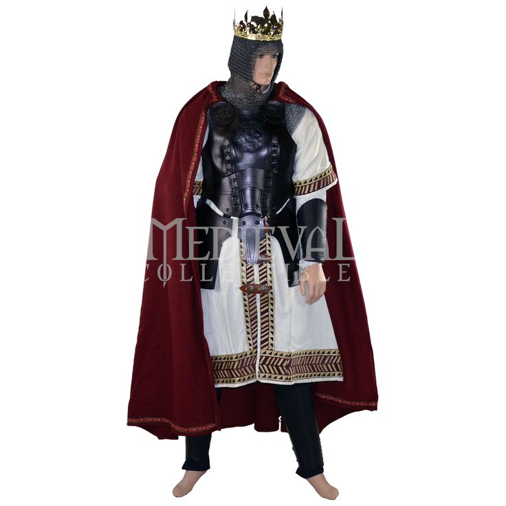King Tunic & Armour Package - MCI-2701 by Medieval Armour ...