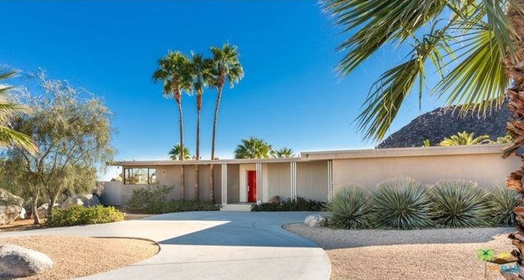 25 best palm springs relax houses images on pinterest for Palm springs condos for sale zillow