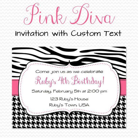 16 best printable invitations images on pinterest invitation