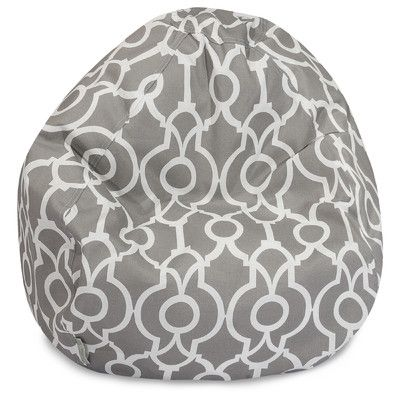 Athens Classic Bean Bag Chair Color: Gray - http://delanico.com/bean-bag-chairs/athens-classic-bean-bag-chair-color-gray-640360153/